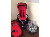 Quinny pram and carry cot