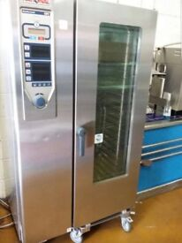 commercial rational oven recent service and new door sealsd