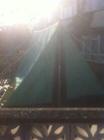 old school bivy tent