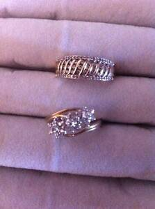 9ct Gold and Diamond Rings Morpeth Maitland Area Preview