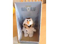 OLEG AS OLAF FROZEN LIMITED EDITION NEW