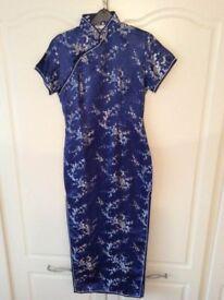 Chinese style dress, size 10