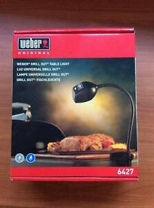 Weber Grill Out Table Light and Barbeque Fork Marleston West Torrens Area Preview