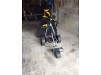 Powakaddy Electric Golf Trolley with Travel Bag and Battery with Chargers