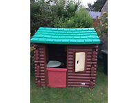 Little Tikes Log Cabin - SOLD