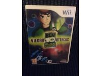 Wii BEN 10 GAME Boxed