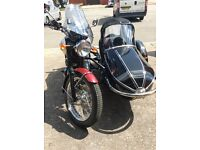 Triumph Bonnerville & Sidecar (never used)
