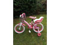 "Hello Kitty 12"" bike with stabilisers"