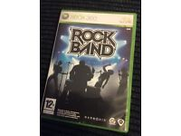 XBOX 360 ROCK BAND GAME Boxed