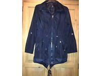 Size 10 lightweight showerproof jacket with hood good condition