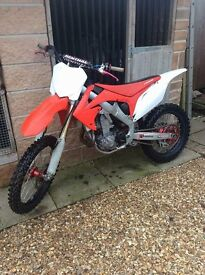 "CRF 450 2012 ""FUEL INJECTED"" L@@@@@k not ktm kxf yzf pitbike farm quad"