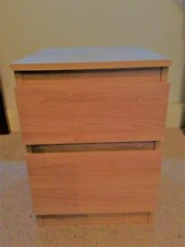 Bedside table. Width-35cm, Depth-40cm,Height-49cm. Good condition. To be collected from Blackheath