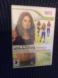 Wii Jillian Michaels Fitness GAME boxed