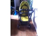 buggy baby and carry cot graco evo
