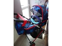 Cosatto Wish Travel System Pram, Pushchair