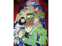 BEN 10 DUVET SET AND BLANKET