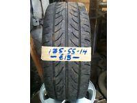 185-55-14 Lassa Impetus 80H 4mm Part Worn Tyre