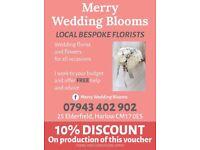 Free Lance Wedding Florist