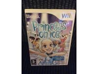 Wii Princess on Ice GAME Boxed