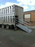 Cattle liner ramps and Aluminum Welding Services