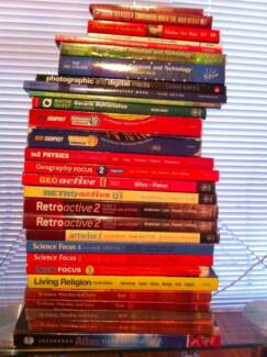 YEAR 7 TO 12 TEXTBOOKS Putney Ryde Area Preview