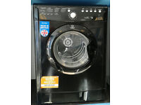 211 black indesit 7kg vented dryer comes with warranty can be delivered or collected