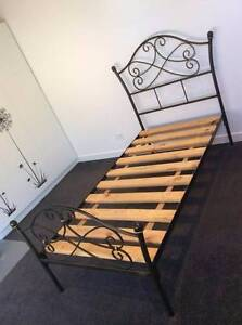 Wrought Iron Single Bed Carlton North Melbourne City Preview