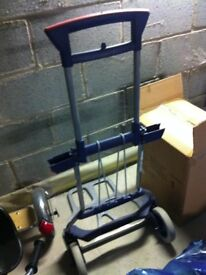 Camping / Gardening / Handy Outside cart or trolley (bottom folds up to store)