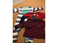 12-18 months sleepsuit and 2 tops