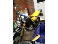 maxus xdirt 125cc spare or repairs