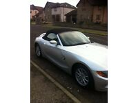 BMW Z4 FOR SALE IN DUNDEE LOOKING FOR £5000.00