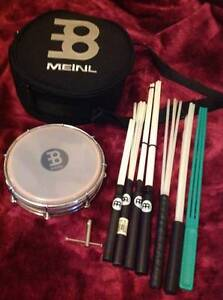 Meinl Tamborim, bag, tuner, 7 various sized beaters - excl. cond. Dover Heights Eastern Suburbs Preview