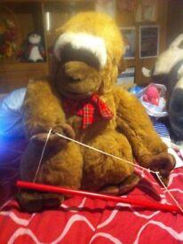 big toy monkey