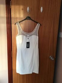 Genuine Versace Jeans Couture dress, size 12 - ideal for festive party season!