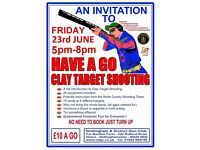 Have a Go at Clay shooting!!