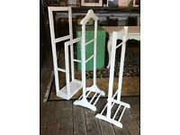 White Clothes Stands - NEW