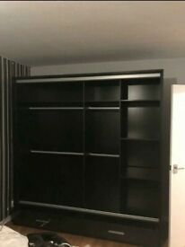 💥Factory outlet Sale Sycylia High Gloss Wardrobe Available With Same Day Delivery💥