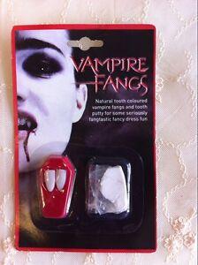Aussie Stock Halloween Vampires Werewolves Fright Fangs Halloween Costume Teeth