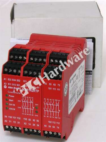 New Allen Bradley 440R-G23216 /A Monitoring Safety Relay MSR142RTP Minotaur