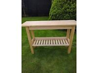 Console table £25