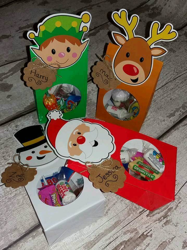 Christmas eve sweet and surprise bags