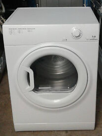 b418 white hotpoint 7kg B rated vented dryer comes with warranty can be delivered or collected