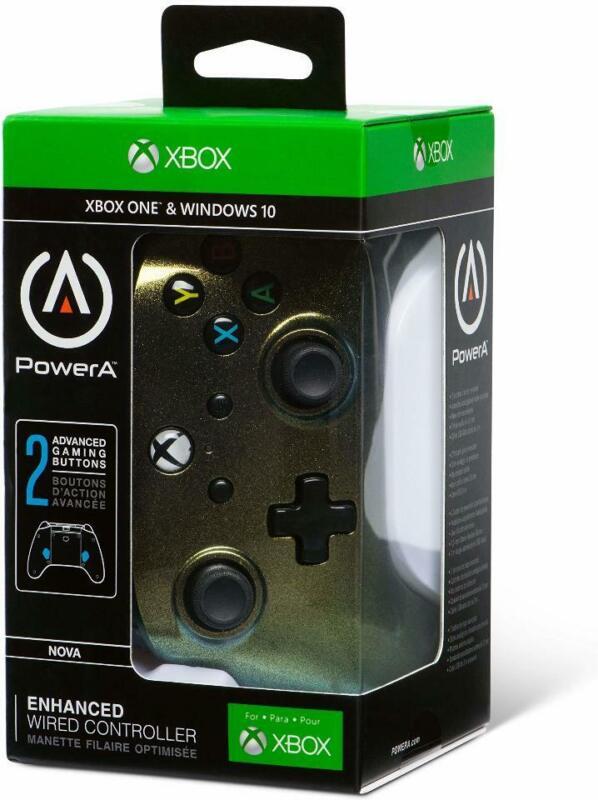 PowerA Enhanced Wired Controller for Xbox One - Cosmos Nova