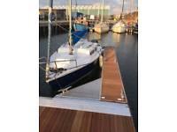 Sailing Boat Alacrity 19ft Bilge Keel