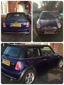 Purple Mini Cooper, 1.6