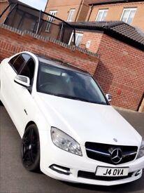 Mercedes c class huge spec