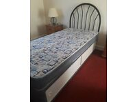 Single Bed with underbed storage & headboard