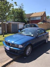 bmw convertible 2001 FOR SALE