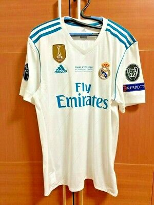 Adidas Real Madrid 3S Track Top L//S Training Jersey AP1840 Soccer Football