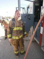 Firefighter returned from Afghanistan looking to continue career